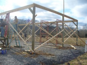 New Barn Construction