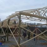 Building a Hay Barn